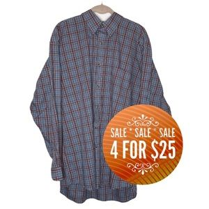 🔥4/$25🔥Denver Hayes Button Down Casual Shirt